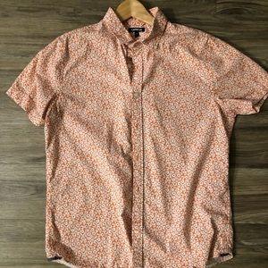 Express Floral Shirt L